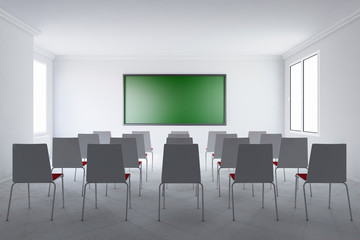 Meeting room with board