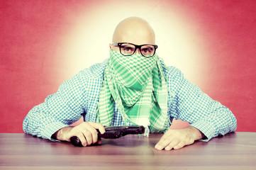 Vintage terrorist