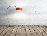 Fototapety lamp in room