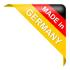 Made in Germany, Ecke, Vektor