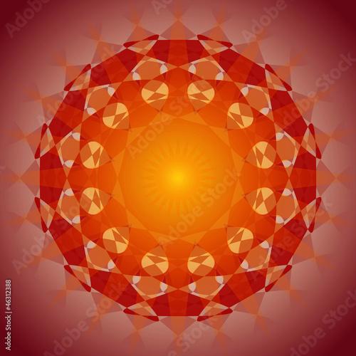 Fototapeten,meditation,mandala,abstrakt,symbol