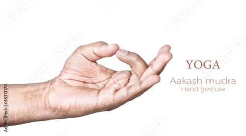 Aakash mudra