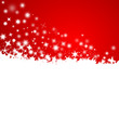 Weihnachtszeit, Schnee, Vektor