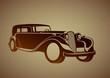 Geçmişten gelen uzun otomobil