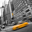 Fototapeten,new york city,york,taxi,gelb