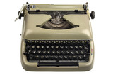 Vintage Writer's Typewriter with Latin European Script Keys