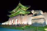 Fototapete Asiatische spezialitäten - Hintergrund - Historische Bauten