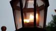 Street gas lamp