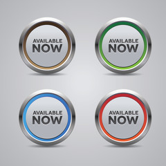Available now button set