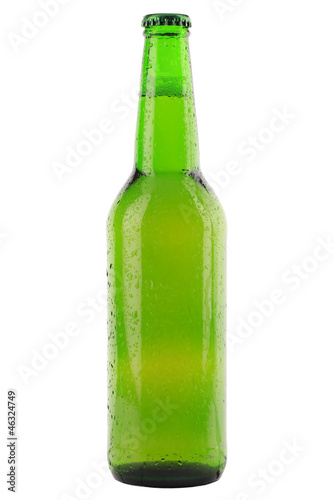Grüne Bierflasche - 46324749