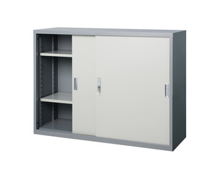 Empty cabinet stainless steel factory furniture