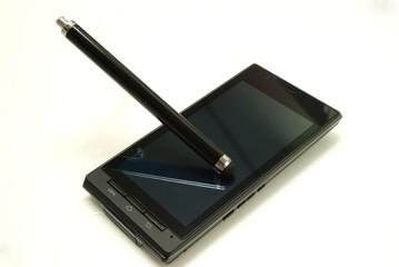 スマートフォンとタッチペン