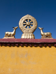 Golden Dharma Wheel, Jokhang Temple