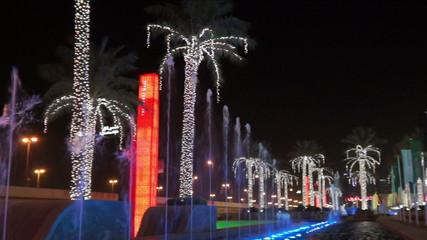 Duabi Fontain at Dubai Mall Pan
