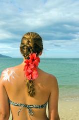 Bräunen am Strand: Sonnenschutz, Sonne, Meer