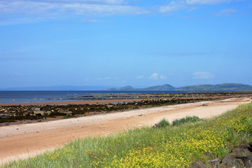 Ardrossan beach, Scotland