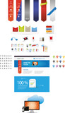 Web graphic collection - startup graphics poster