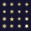 glowing snowflake collection