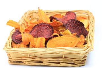 chips de légumes bio