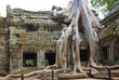 Ruins of ancient temple. Angkor wat, Cambodia