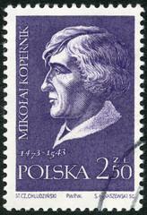 POLAND - 1959: shows Nicolaus Copernicus (1473-1543)