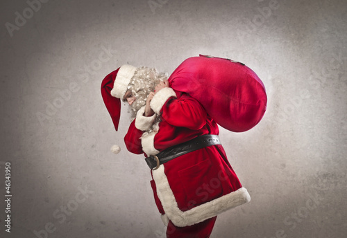 Labored Santa Claus