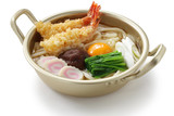 nabeyaki udon, japanese hot pot noodles