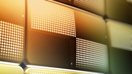 Fun, Cool, New, Improved LED Screen Animations (Four Clips)