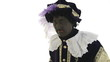 Zwarte Piet is sneezing