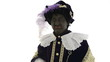 Zwarte Piet is making funny faces