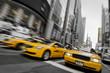 Fototapeten,new york city,york,taxi,taxi