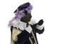 Zwarte Piet is doing a magic trick