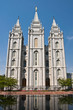 Le Temple mormon, Temple Square, Salt lake City, USA