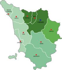 toscana nuove province