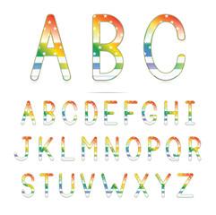 Rainbow America Font