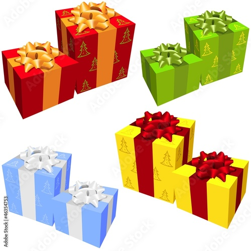 Gift Boxes - colorful set