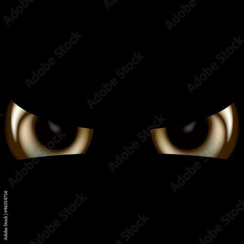 Devil Eyes - Spooky Background