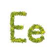 Eco Font Letter E