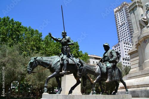Don Quijote y Sancho Panza, Madrid, España
