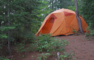 Algonquin Orange Tent