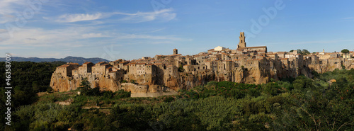 Pitigliano-panoramic