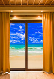 Hotel room and beach landscape - 46360778