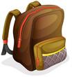 a school bag