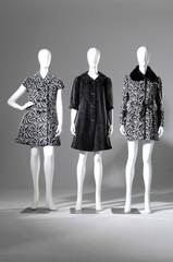 Set of Three dummies dressed in coat