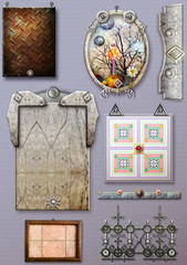 Architectural and decorative elements