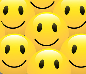 Smiley Background Vector