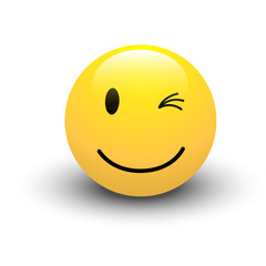 Winking Smiley Vector