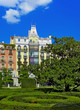 Park near Royal Palace - Madrid