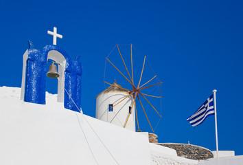 Santorini symbols, Greece