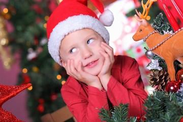 warten auf den Weihnachtsmann